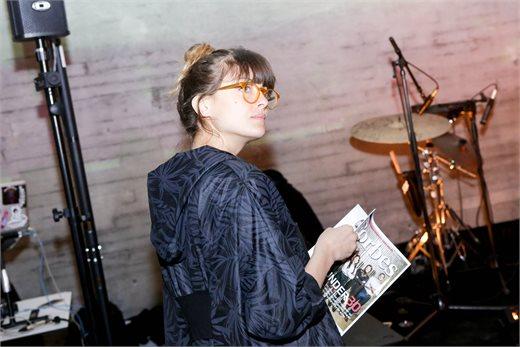 נגה ארז באירוע ההשקה | צילום: שלומי יוסף