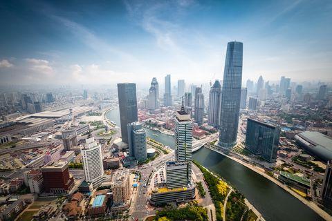 טיאנג'ין. העיר החדשה תיצור משולש בינה ובין בייג'ינג. צילום: shutterstock